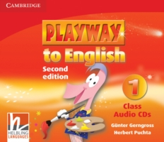 Playway to English 2/e new (A1) 1 CD (3) 2/e