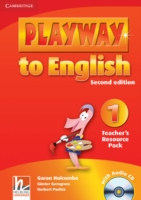 Playway to English 2/e new (A1) 1 Teach Resour Pack +CD 2/e