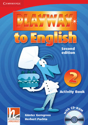 Playway to English 2/e new (A1) 2 Activity Book +CD-Rom 2/e