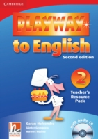 Playway to English 2/e new (A1) 2 Teach Resour Pack +CD 2/e