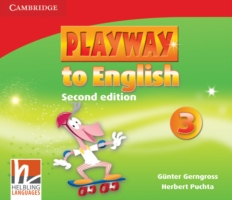 Playway to English 2/e new (A1) 3 CD (3) 2/e