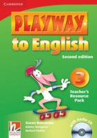 Playway to English 2/e new (A1) 3 Teach Resour Pack +CD 2/e