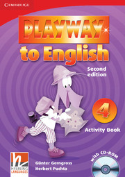 Playway to English 2/e new (A1) 4 Activity Book +CD-Rom 2/e