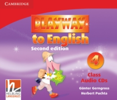 Playway to English 2/e new (A1) 4 CD (3) 2/e