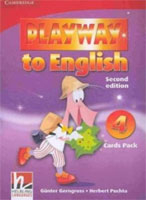 Playway to English 2/e new (A1) 4 Flashcards & Storycards 2/e