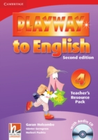 Playway to English 2/e new (A1) 4 Teach Resour Pack +CD 2/e