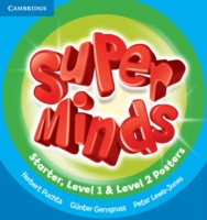 Super Minds (Beg/Pre-int) Posters (15) for Starter, Levels 1 and 2 (combined)