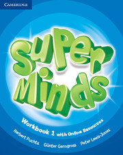 Super Minds (Beg/Pre-int) 1 Workbook +Online Resources