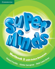 Super Minds (Beg/Pre-int) 2 Workbook +Online Resources