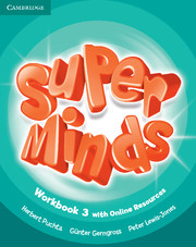 Super Minds (Beg/Pre-int) 3 Workbook +Online Resources