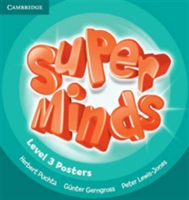 Super Minds (Beg/Pre-int) 3 Posters (10)