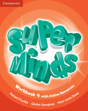Super Minds (Beg/Pre-int) 4 Workbook +Online Resources