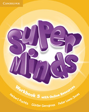 Super Minds (Beg/Pre-int) 5 Workbook +Online Resources