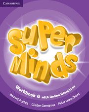 Super Minds (Beg/Pre-int) 6 Workbook +Online Resources