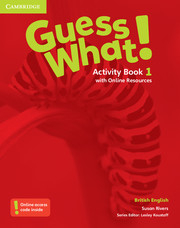 Guess What ! 1 Activity Book +Online Resources