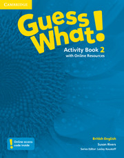 Guess What ! 2 Activity Book +Online Resources
