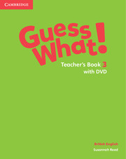 Guess What ! 3 Teacher