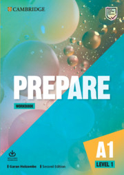 Prepare! 1 Workbook +Audio