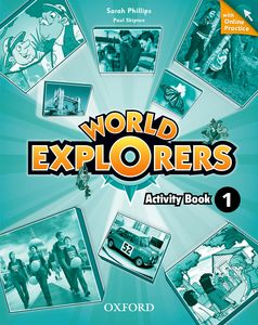 World Explorers 1 Activity Book + Online Practice