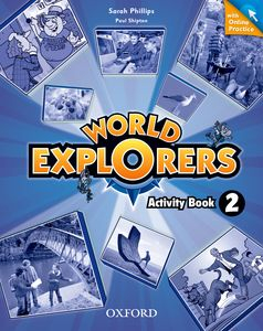World Explorers 2 Activity Book + Online Practice