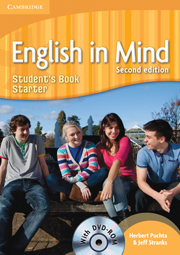 English in Mind 2/e new (A1-B2) Starter Student´s Book + DVD-Rom 2/e