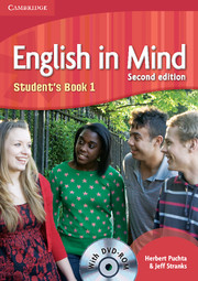 ENGLISH IN MIND 2/E NEW (A1-B2) 1 STUDENT´S BOOK + DVD-ROM 2/E