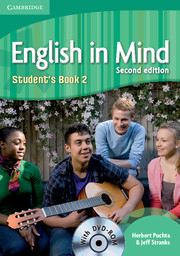 ENGLISH IN MIND 2/E NEW (A1-B2) 2 STUDENT´S BOOK + DVD-ROM 2/E