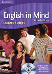 ENGLISH IN MIND 2/E NEW (A1-B2) 3 STUDENT´S BOOK + DVD-ROM 2/E