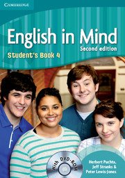 ENGLISH IN MIND 2/E NEW (A1-B2) 4 STUDENT´S BOOK + DVD-ROM 2/E