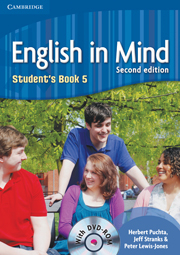 ENGLISH IN MIND 2/E NEW (A1-B2) 5 STUDENT´S BOOK + DVD-ROM 2/E