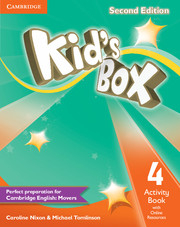 Kid´s Box 2/e (A1-A2) UPDATED 4 Activity Book +Online Res 2/e