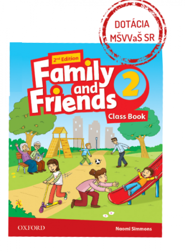 Family and Friends 2nd Edition 2 Class Book (2019 Edition)