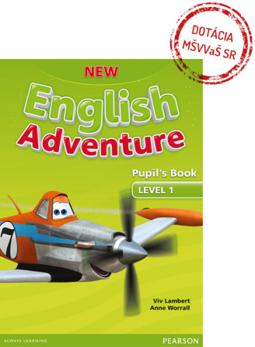 New English Adventure 1 Pupil´s Book w/ DVD Pack - Výpredaj