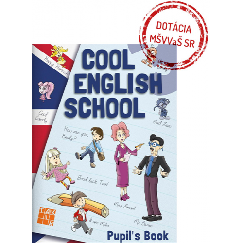 COOL ENGLISH SCHOOL 3 - učebnica