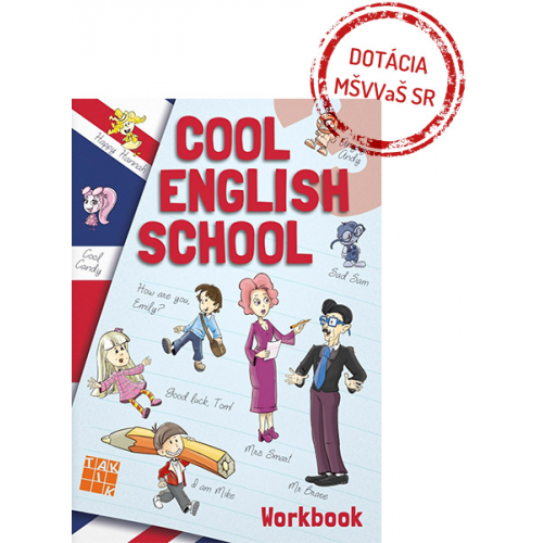 COOL ENGLISH SCHOOL 3 - pracovný zošit